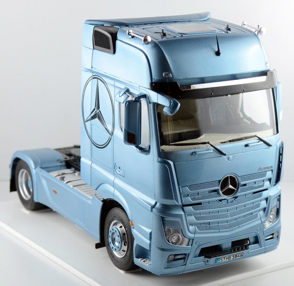 Fonkelnieuw ITALERI - Mercedes Benz Actros MP4 GigaSpace - Coming soon IM-91