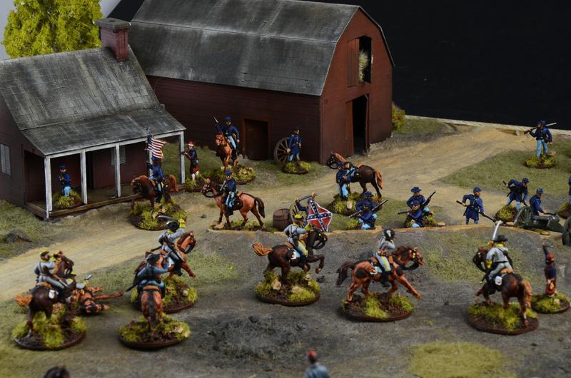 SCALA 1:6TH lato SHOW guerra civile americana in plastica KEPI Cap CB38268