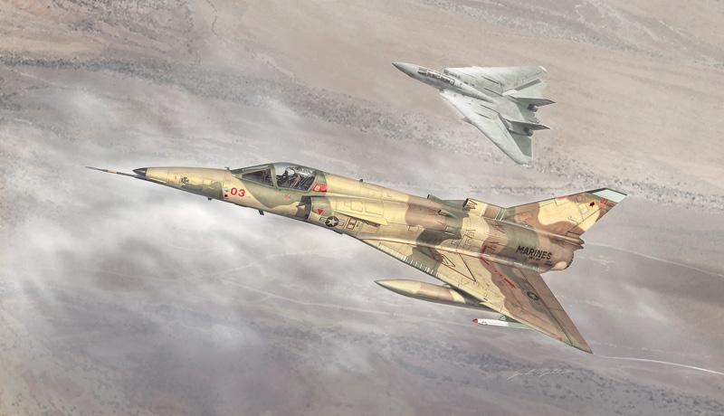 Italeri 1397 IAI F-21A Lion//Kfir C.1-1:72
