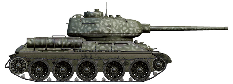 ITALERI - World of Tanks - T-34/85 NEW EDITION