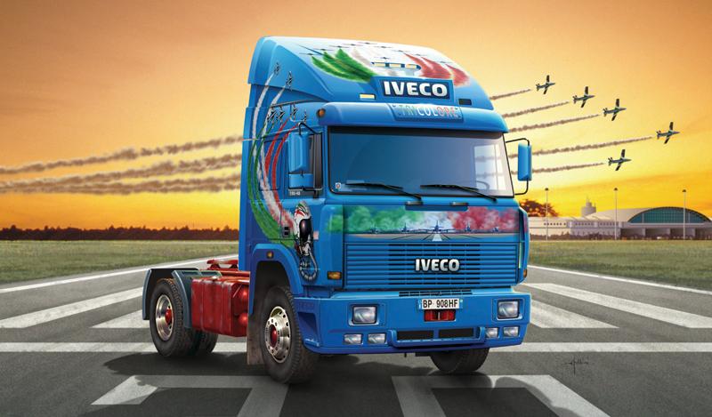 ITALERI 1:24 3939 IVECO TURBOSTAR 190.42 Toile Modèle Camion Kit