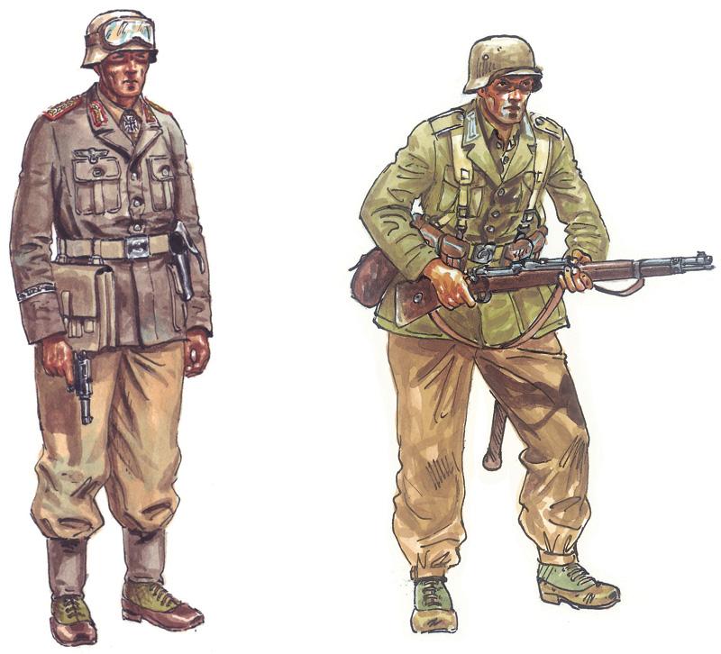 ITALERI Deutsche Afrika Korps Infantry WWII 6099 1:72 Figures Model Kit