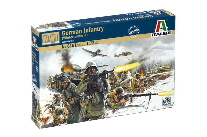 ITALERI - German Infantry (Winter uniform)