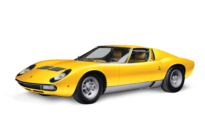 Italeri Lamborghini Miura Model Set Starter Kit