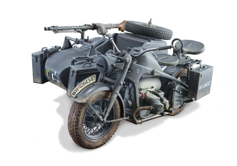 ITALERI 1:35 Motorrad-Gespann Zündapp KS750 510000317