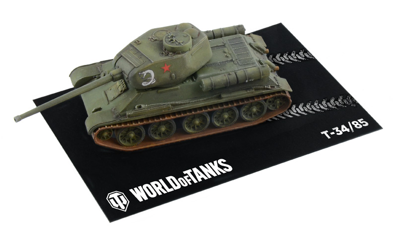 ITALERI - T-34/85 - WoT - Easy to Build