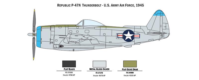 ITALERI - WAR THUNDER - P-47 N & P-51 D