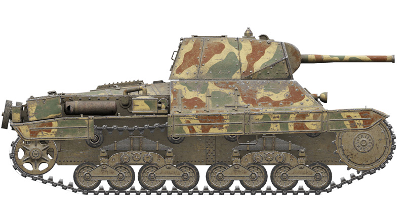 Italeri 36515-1//35 World Of Tanks Neu P26//40