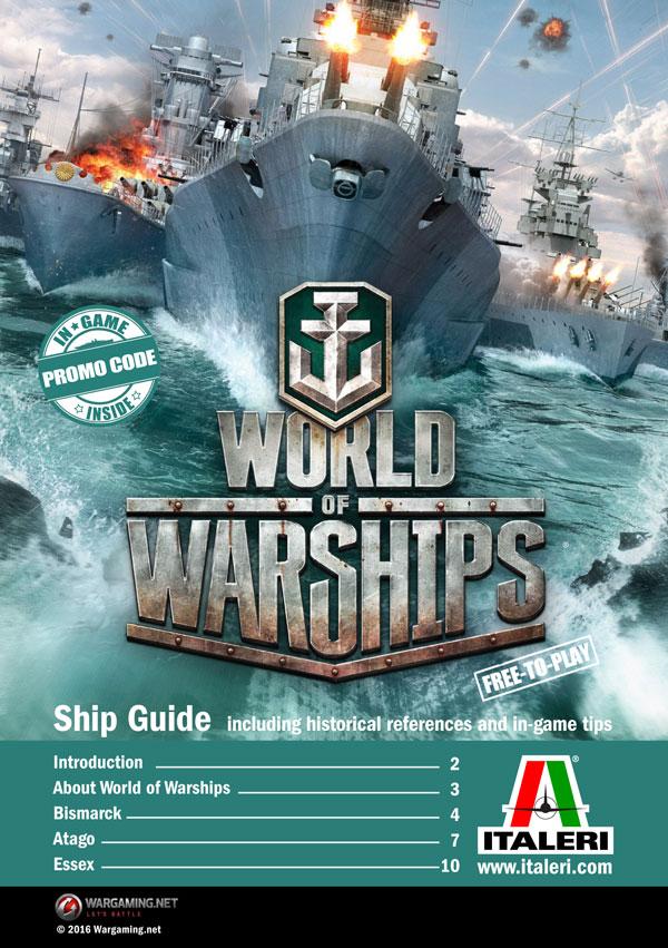 ITALERI - World of Warships: USS ESSEX 1:700