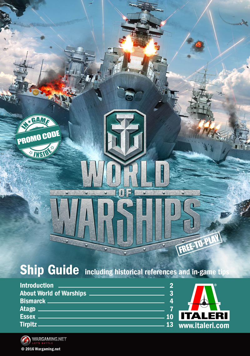ITALERI - World of Warships : TIRPITZ 1:700