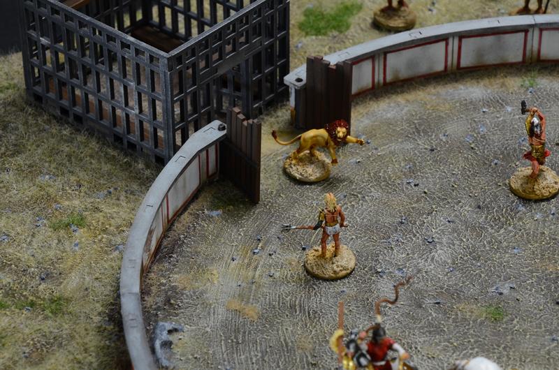 Battle Set Neu Italeri 6196-1//72 Gladiators Fight