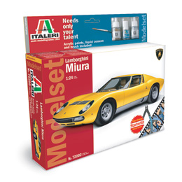 LAMBORGHINI MIURA - Model Sets Special Edition